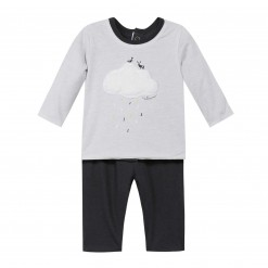 Pre-Order Catimini AW15 BB Spirit City Light Grey T-Shirt and Trousers