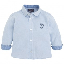 Pre-Order Mayoral AW15 Baby Boys Light Blue Shirt
