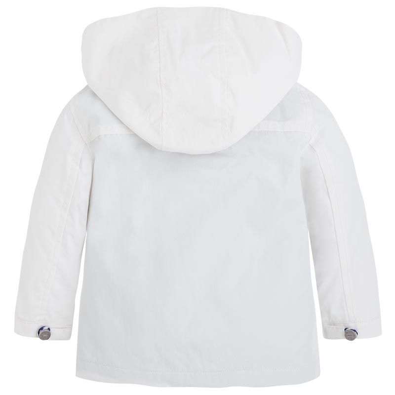 Mayoral SS15 Baby Boys White Coat - Jack and Jill Kidswear