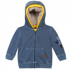 Pre-Order Catimini AW15 MB Urban Storm Blue Hooded Cardigan