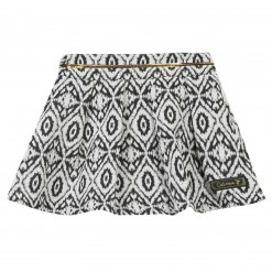 Pre-Order Catimini AW15 MG Urban Global Mix Ecru Patterned Skirt