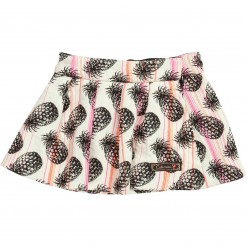 Pre-Order Catimini AW15 MG Mon Vestiaire Chalk Patterned Skirt