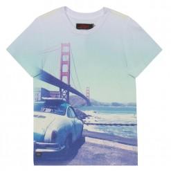 Pre-Order Catimini SS16 KG Urban Bridge Print T-Shirt