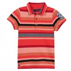Pre-Order Catimini SS16 KG Urban Global Mix Volcano Red Polo Shirt