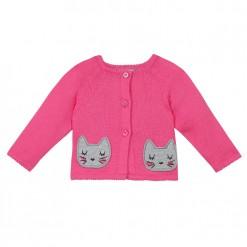 Pre-Order Catimini SS16 BG Spirit Graphique Rose Pink Cardigan