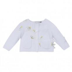 Pre-Order Catimini SS16 BG Spirit City White Knitted Cardigan