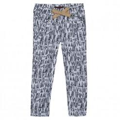 Pre-Order Catimini SS16 MG Urban Global Mix Black & Ecru Trousers