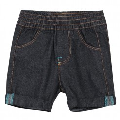 Pre-Order Catimini SS16 BB Spirit Graphique Indigo Blue Denim Shorts