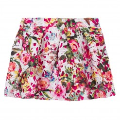 Pre-Order Catimini SS16 KF Spirit Couture Fuchsia Patterned Skirt