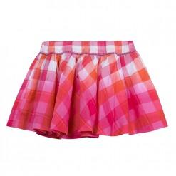 Pre-Order Catimini SS16 MG Spirit Ethnique Fuchsia Pink Check Skirt