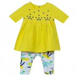 Pre-Order Catimini SS16 BG Spirit City Yellow Dress & Leggings