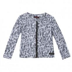 Pre-Order Catimini SS16 MG Urban Global Mix Black & Ecru Jacket