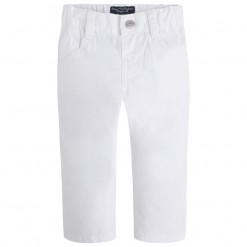 Mayoral SS16 Toddler Boys White Twill Trousers