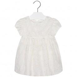 Mayoral SS16 Toddler Girls Ecru Tulle Dress