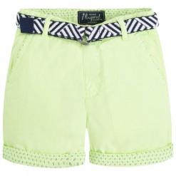 Mayoral SS16 Mini Boys Acid Green Bermuda Shorts