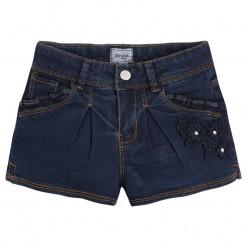 Mayoral SS16 Mini Girls Indigo Blue Denim Shorts