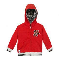 Pre-Order Catimini SS16 MB Urban Global Mix Red Hooded Cardigan