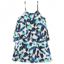 Pre-Order Catimini SS16 KF Casual Chic Blue Patterned Sun Dress