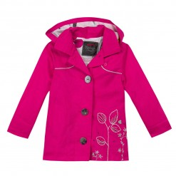 Pre-Order Catimini SS16 MG Spirit City Fuchsia Pink Coat