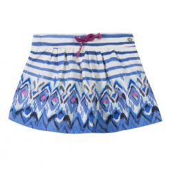 Pre-Order Catimini AW16 MG Ethno City Blue Striped Skirt