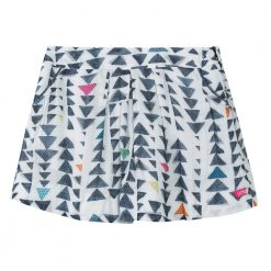 Pre-Order Catimini AW16 KF Pop Ecru Triangles Patterned Skirt