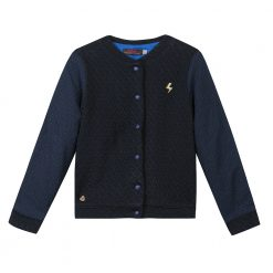 Pre-Order Catimini AW16 KF Ethno City Dark Blue Textured Jacket