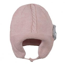 Pre-Order Catimini AW16 BG Pop Blush Pink Knitted Hat