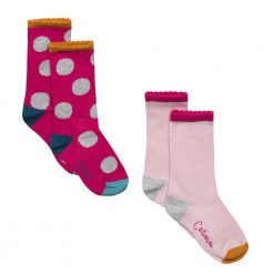 Pre-Order Catimini AW16 MG Pop Pink Socks Pack