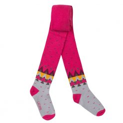 Pre-Order Catimini AW16 MG Nomade Fuchsia Pink Patterned Tights
