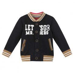 Pre-Order Catimini AW16 MB Graphic City Black Jersey Cardigan