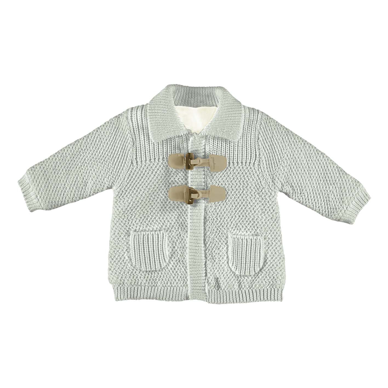 Mayoral A/W17 Newborn Boys Silver Grey Cardigan/Jacket - Jack and ...